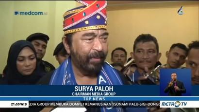 Surya Paloh Tak Masalah Prabowo-Sandi Boikot Metro TV