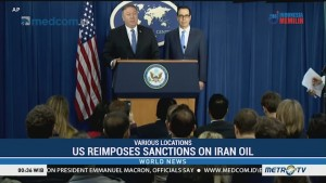 US Reimposes Sanctions on Iran Oil, But Offers Exemptions