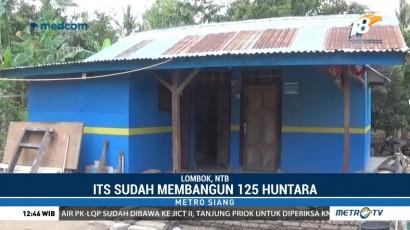 ITS Bangun Ratusan Huntara untuk Korban Gempa Lombok