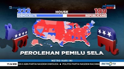 Hasil Hitung Cepat Pemilu Sela di Amerika Serikat