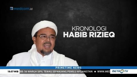 Kronologi Pemeriksaan Rizieq Shihab oleh Aparat Keamanan Arab Saudi