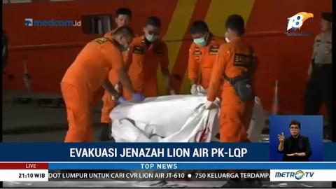 Satu Kantong Jenazah Dibawa ke RS Polri