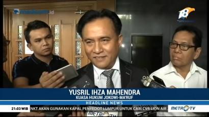 Yusril Tegaskan Siap Bela Jokowi-Maruf di Pilpres 2019