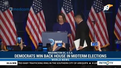 Democrats Win Back House in Midterm Elections