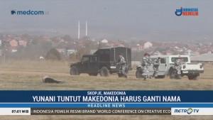 Tentara Makedonia Unjuk Kemampuan Militer