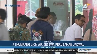 Penumpang Lion Air Kecewa Jadwal Penerbangan Berubah