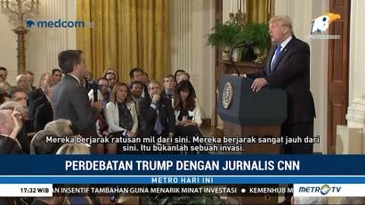 Cekcok dengan Trump, Jurnalis CNN Dilarang ke Gedung Putih