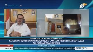 KBRI Riyadh: Penempelan Bendera Bukan di Depan Rumah Rizieq