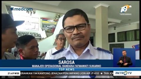 Kemenhub Investigasi Insiden Lion Air Senggol Tiang Lampu Bandara
