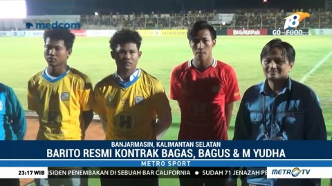 Barito Putera Rekrut Tiga Pemain Timnas U-16