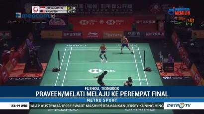 Praveen/Melati Melaju ke Perempat Final Tiongkok Terbuka 2018