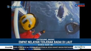 Penyelamatan Dramatis Nelayan di Inggris