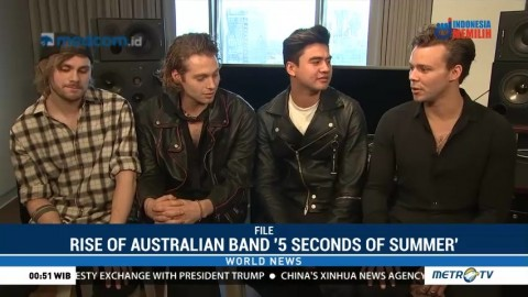 Rise of Australian Band '5 Seconds of Summer'
