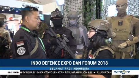 Indo Defence Expo dan Forum 2018 Pamerkan Alutsista Buatan Indonesia