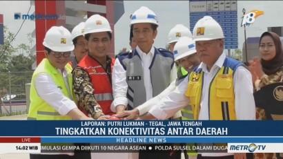 Jokowi Resmikan Tol Pejagan-Pemalang dan Batang-Pemalang