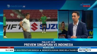 Preview Singapura vs Indonesia