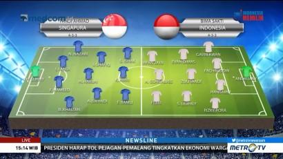 Perkiraan Formasi Singapura vs Indonesia