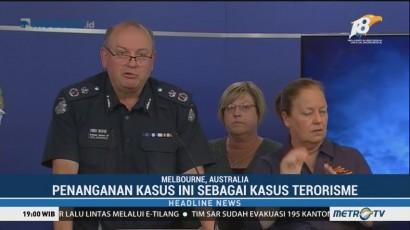 Penusukan 3 Orang di Melbourne akan Ditangani Sebagai Kasus Terorisme