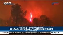 Fenomena Langka Tornado Api Muncul di California