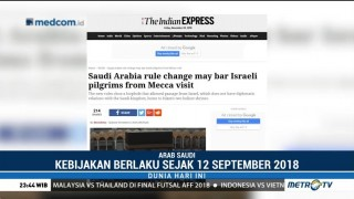 Arab Saudi Larang Warga Palestina Berhaji dan Umrah