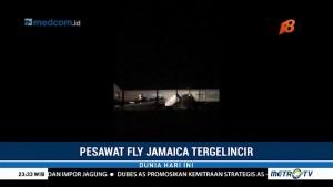 Pesawat Fly Jamaica Mendarat Darurat di Guyana, Penumpang Terluka