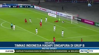 Kalah dari Singapura, Timnas Harus Maksimalkan Laga Sisa