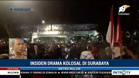 Penonton Jatuh dari Viaduk, Ini Penjelasan Kapolrestabes Surabaya
