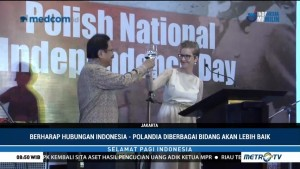Kedubes Polandia di Jakarta Gelar Peringatan Hari Kemerdekaan
