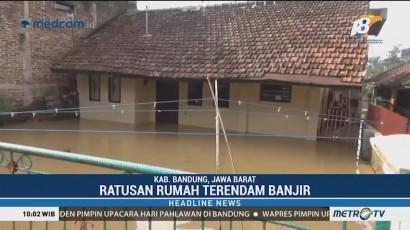 2 Kecamatan di Kabupaten Bandung Terendam Banjir