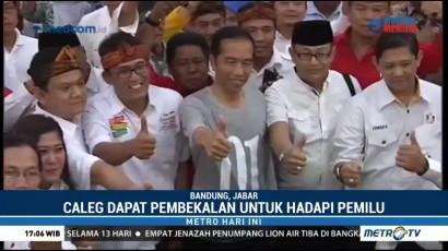 Jokowi Beri Pembekalan untuk Caleg Partai Koalisi