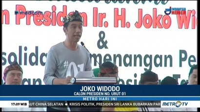Jokowi Ajak Caleg Lawan Hoaks