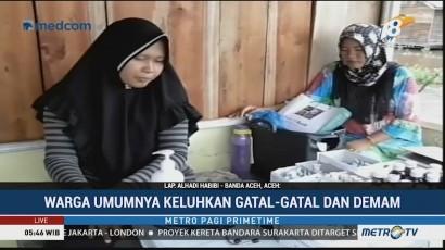 Korban Banjir di Aceh Singkil Mulai Terserang Penyakit