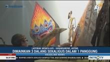 Pementasan Wayang Kulit Meriahkan HUT ke-7 NasDem di Karanganyar