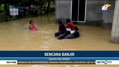 Banjir di Riau Berangsur Surut
