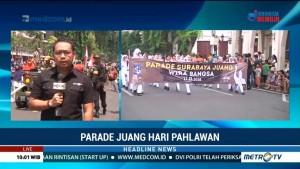Pemkot Surabaya Gelar Parade Juang