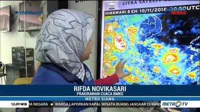Hujan Diprediksi Guyur Wilayah Sumatera dan Jawa