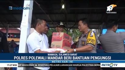 Polres Polman Kirimkan Bantuan Makanan untuk Korban Gempa Mamasa