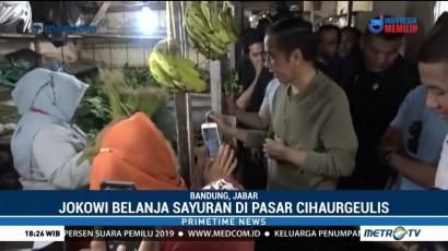 Jokowi-Ma'ruf Blusukan di Bandung