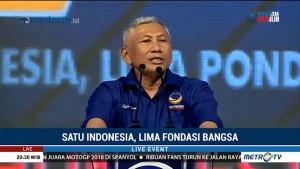 HUT ke-7 NasDem: Satu untuk Indonesia, Lima Fondasi Bangsa (3)
