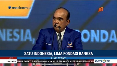 HUT ke-7 NasDem: Satu untuk Indonesia, Lima Fondasi Bangsa (4)