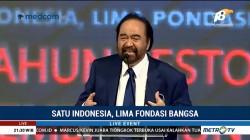 HUT ke-7 NasDem: Satu untuk Indonesia, Lima Fondasi Bangsa (6)