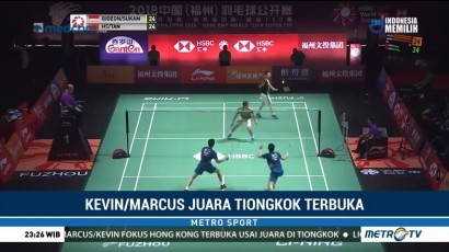 Marcus/Kevin Juara Fuzhou China Open 2018