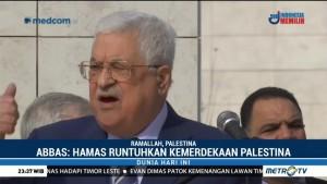 Abbas: Hamas Runtuhkan Kemerdekaan Palestina