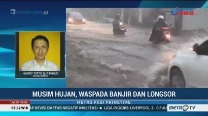 Musim Hujan, Waspada Banjir dan Longsor