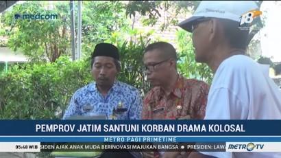 Pemprov Jatim Santuni Korban Tewas Insiden 'Surabaya Membara'