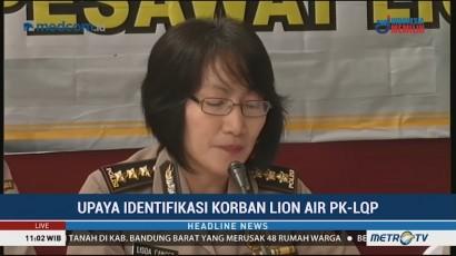 DVI Polri Lanjutkan Identifikasi Korban Lion Air