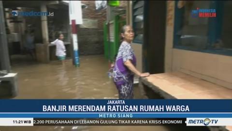 Kampung Melayu Tergenang Banjir