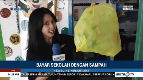 Bayar Sekolah dengan Sampah