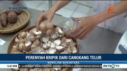 Mahasiswa di Surabaya Buat Perenyah Keripik dari Cangkang Telur