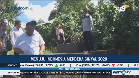 Program Indonesia Merdeka Sinyal 2020 Dikebut